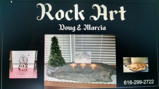 Rock art by Doug & Marcia