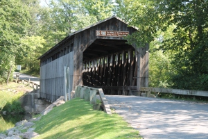 Fallasburg Covered Bridge connects to the past.