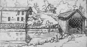 A thriving settlement in 1850s