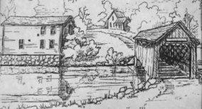 The Fallasburg historical village.