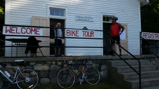 Fallasburg Covered Bridge bike tour 2016