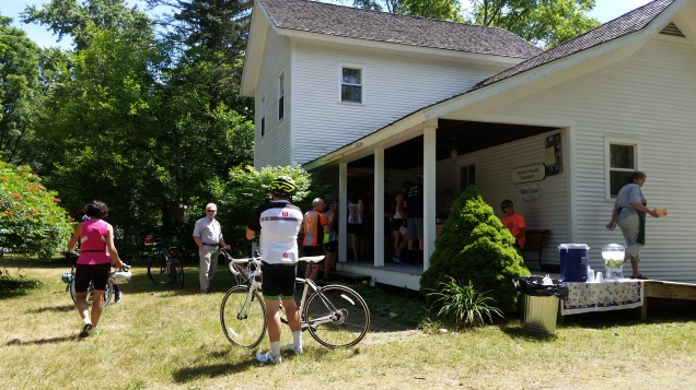 Lunch stop at the Misner House museum.