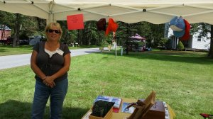Fallasburg village bazaar partners are Whites Bridge historical society and Fallasburgh Flats vintage base ball team.
