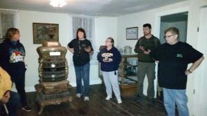 Inside John W. House @fallasburg