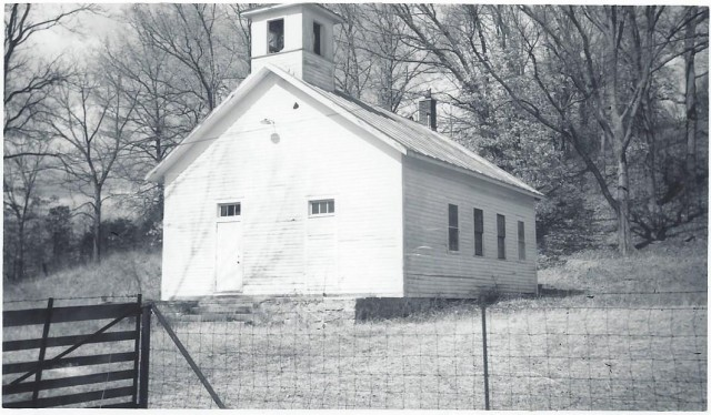 Fallasburg Historical Society-Schoolhouse Pic, 1964 Dr. Ruth Herrick