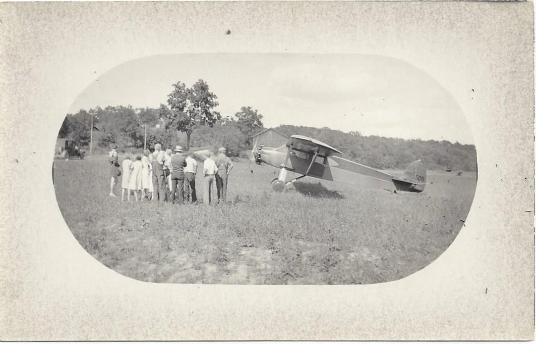 FHS-CA. Miller, Plane, Fallas Field